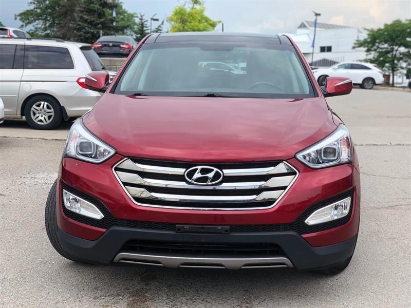 2013 Hyundai Santa Fe 2.4L AWD Luxury in Mississauga, Ontario - 2 - w1024h768px