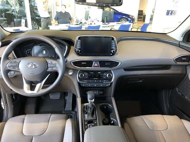 2019 Hyundai Santa Fe Ultimate AWD 2.0T Dark Chrome in Regina, Saskatchewan - 9 - w1024h768px