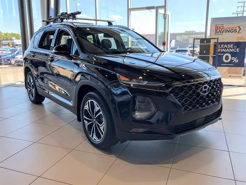 2019 Hyundai Santa Fe Ultimate AWD 2.0T Dark Chrome in Regina, Saskatchewan - 2 - w1024h768px