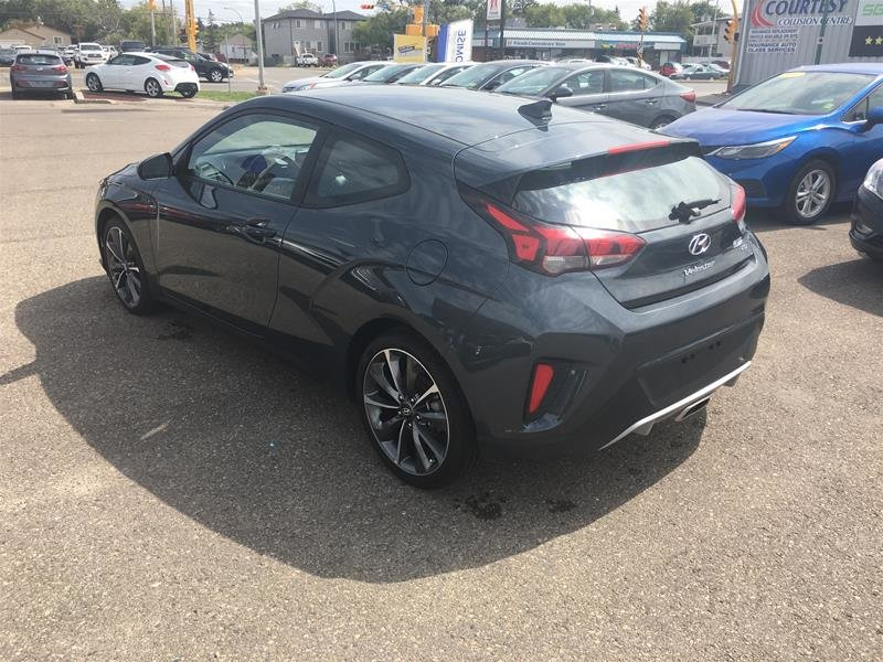 2019 Hyundai Veloster Base - at in Regina, Saskatchewan - 4 - w1024h768px