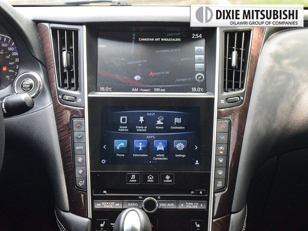 2015 Infiniti Q50 AWD in Mississauga, Ontario - 18 - w1024h768px