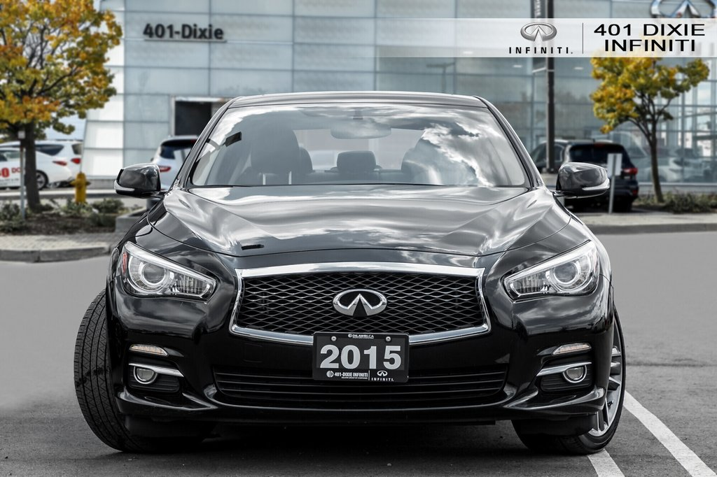 2015 Infiniti Q50 AWD in Mississauga, Ontario - 2 - w1024h768px