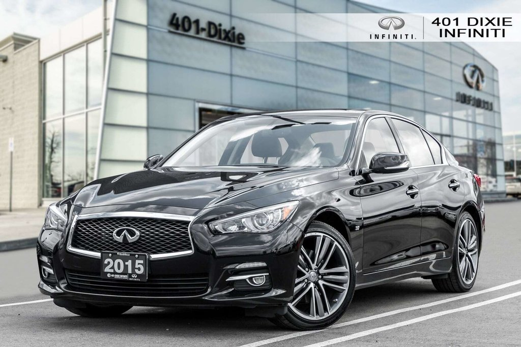2015 Infiniti Q50 AWD in Mississauga, Ontario - 1 - w1024h768px