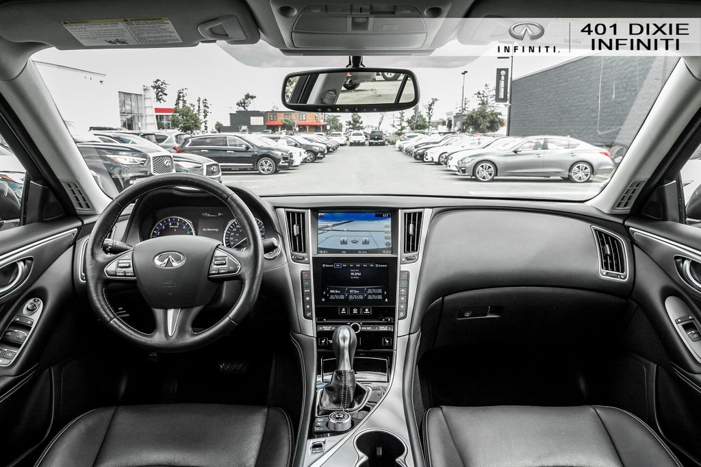 2015 Infiniti Q50 AWD in Mississauga, Ontario - 20 - w1024h768px