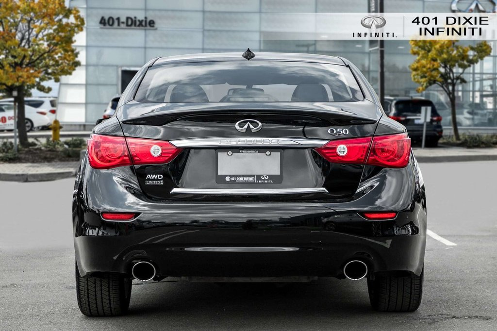 2015 Infiniti Q50 AWD in Mississauga, Ontario - 6 - w1024h768px