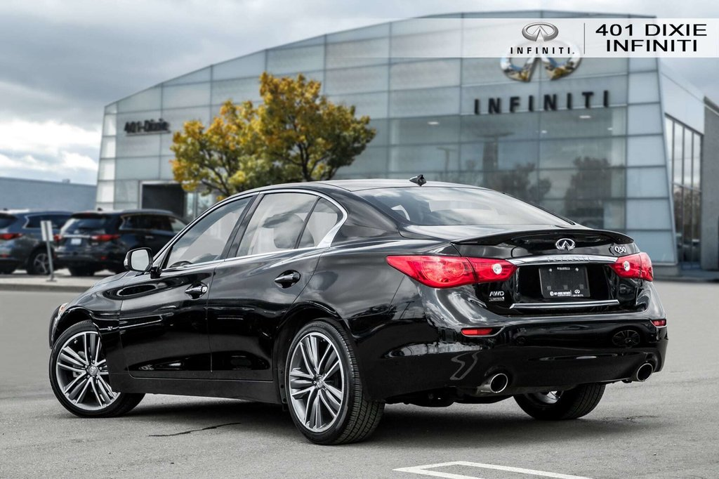 2015 Infiniti Q50 AWD in Mississauga, Ontario - 4 - w1024h768px