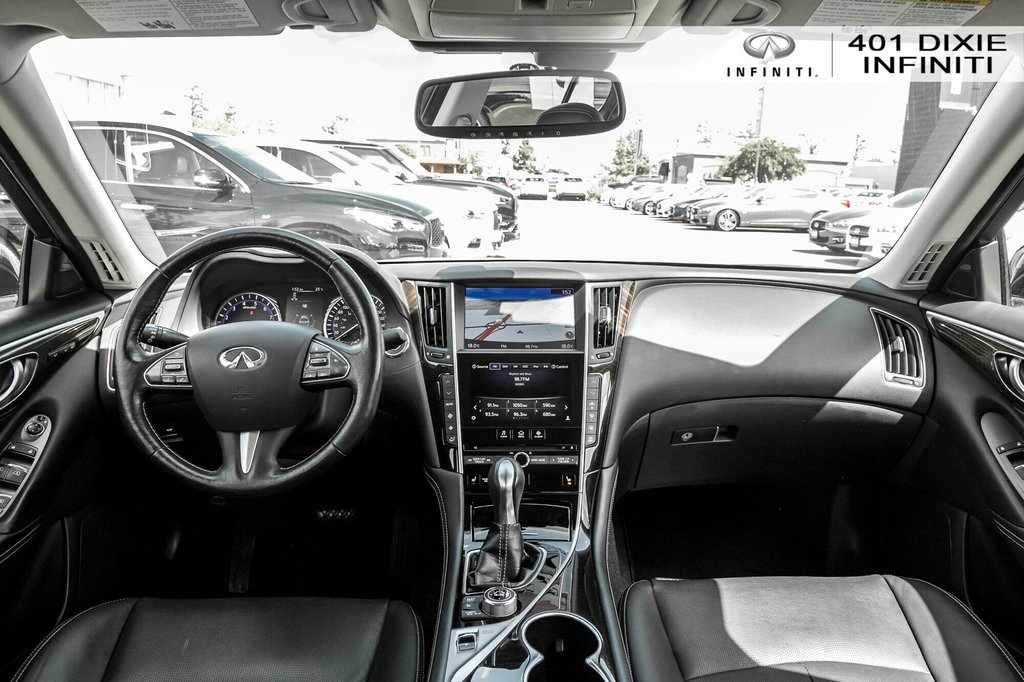 2015 Infiniti Q50 AWD in Mississauga, Ontario - 21 - w1024h768px