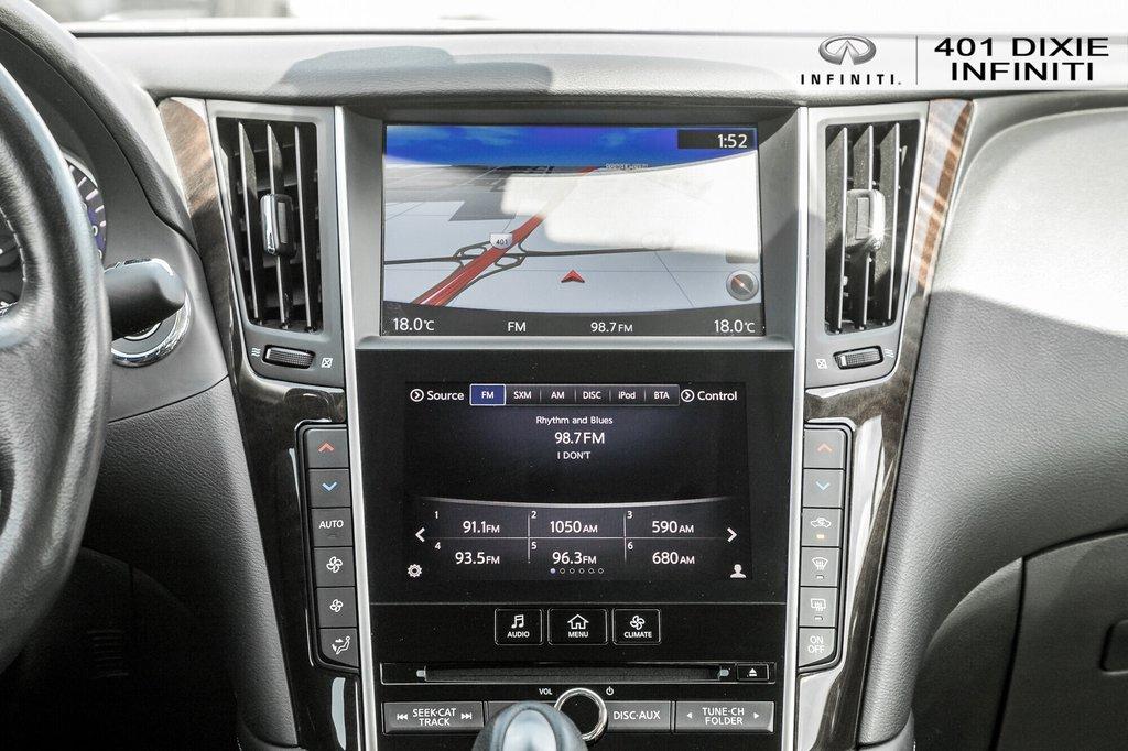 2015 Infiniti Q50 AWD in Mississauga, Ontario - 22 - w1024h768px