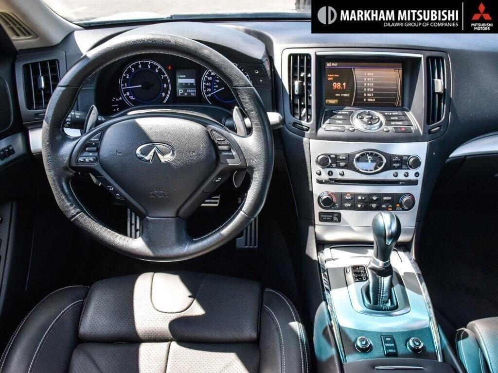 2014 Infiniti Q60 Coupe Premium Sport AWD in Markham, Ontario - 12 - w1024h768px