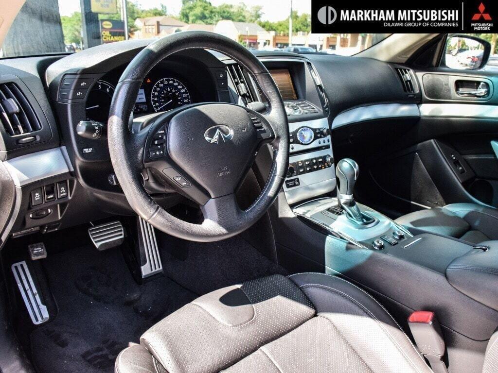 2014 Infiniti Q60 Coupe Premium Sport AWD in Markham, Ontario - 10 - w1024h768px