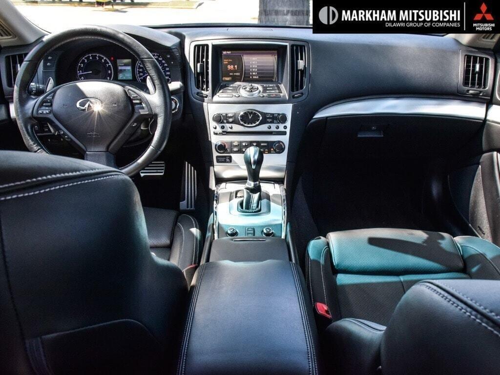 2014 Infiniti Q60 Coupe Premium Sport AWD in Markham, Ontario - 11 - w1024h768px
