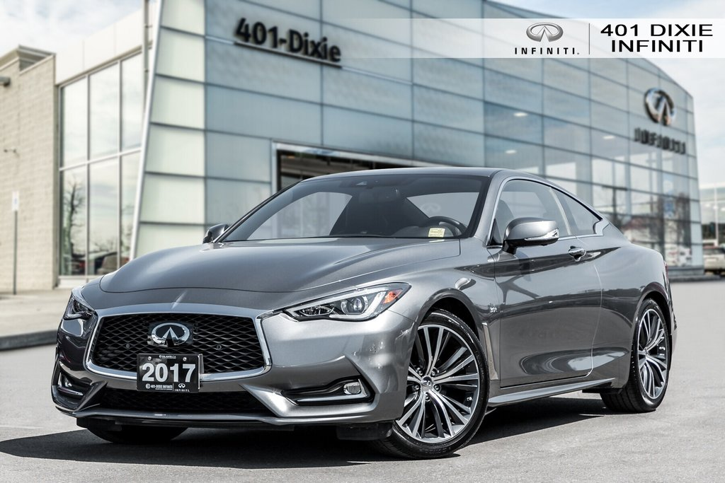 2017 Infiniti Q60 3.0T AWD in Mississauga, Ontario - 1 - w1024h768px