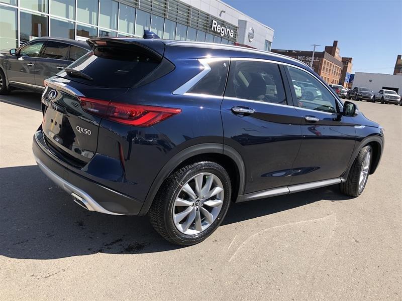 2019 Infiniti QX50 2.0T Essential AWD (E6SG79) in Regina, Saskatchewan - 4 - w1024h768px