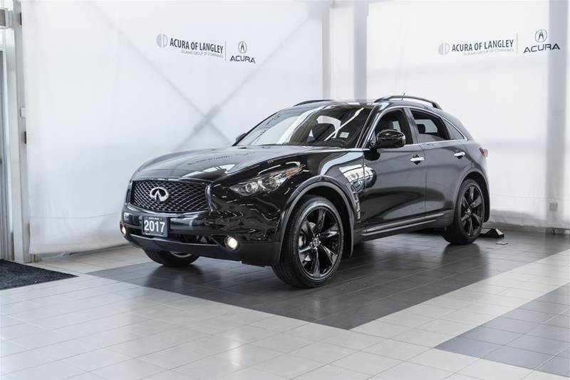 2017 Infiniti QX70 Sport in Langley, British Columbia - 22 - w1024h768px