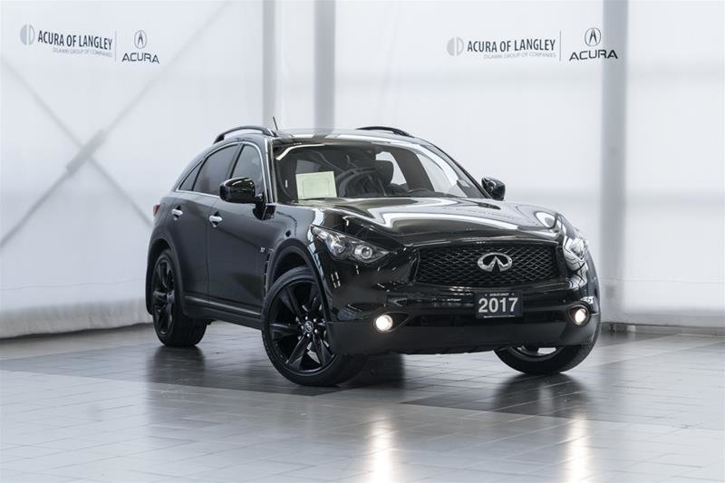 2017 Infiniti QX70 Sport in Langley, British Columbia - 1 - w1024h768px