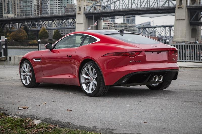Land Rover Vancouver | 2015 Jaguar F-TYPE Coupe S at | #UM1753