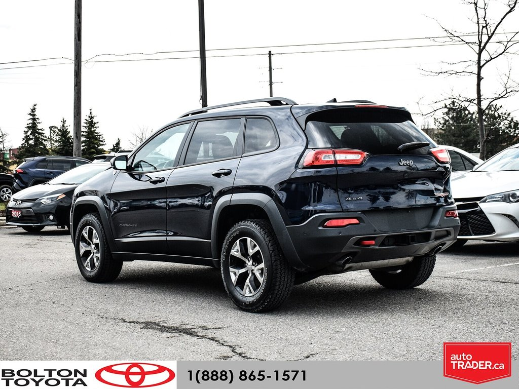 2016 Jeep Cherokee 4x4 Trailhawk in Bolton, Ontario - 4 - w1024h768px