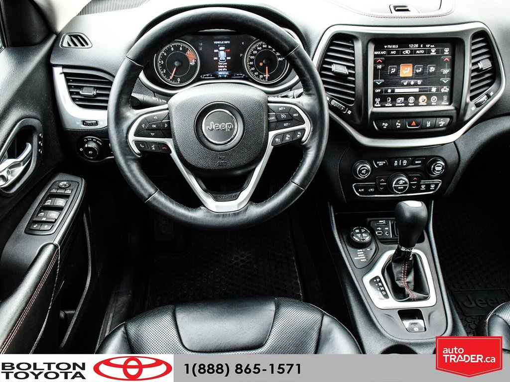 2016 Jeep Cherokee 4x4 Trailhawk in Bolton, Ontario - 25 - w1024h768px