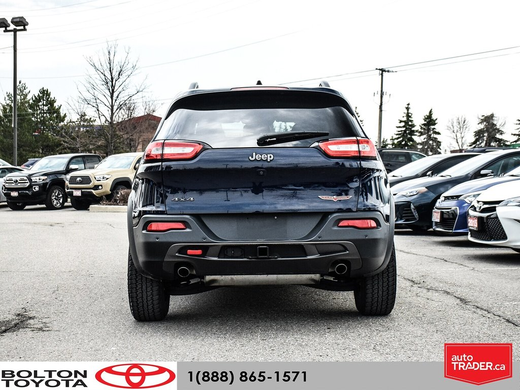 2016 Jeep Cherokee 4x4 Trailhawk in Bolton, Ontario - 5 - w1024h768px
