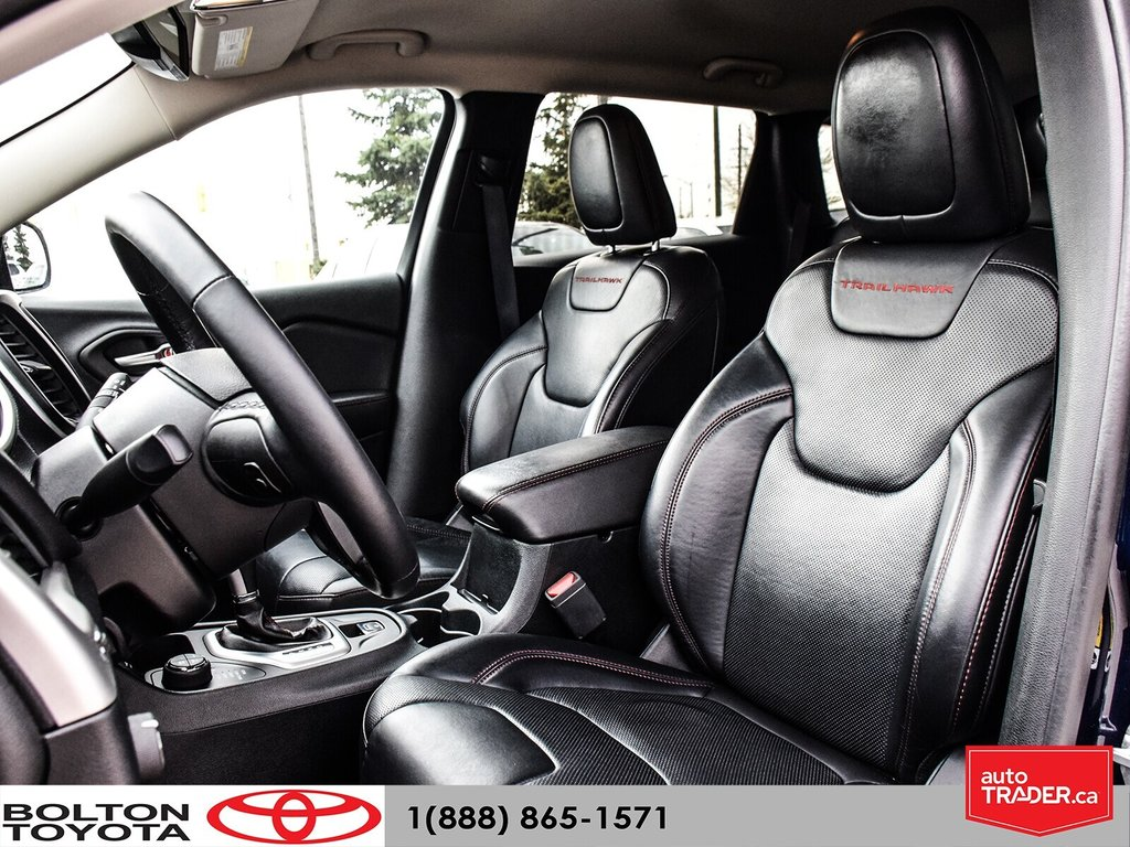 2016 Jeep Cherokee 4x4 Trailhawk in Bolton, Ontario - 21 - w1024h768px