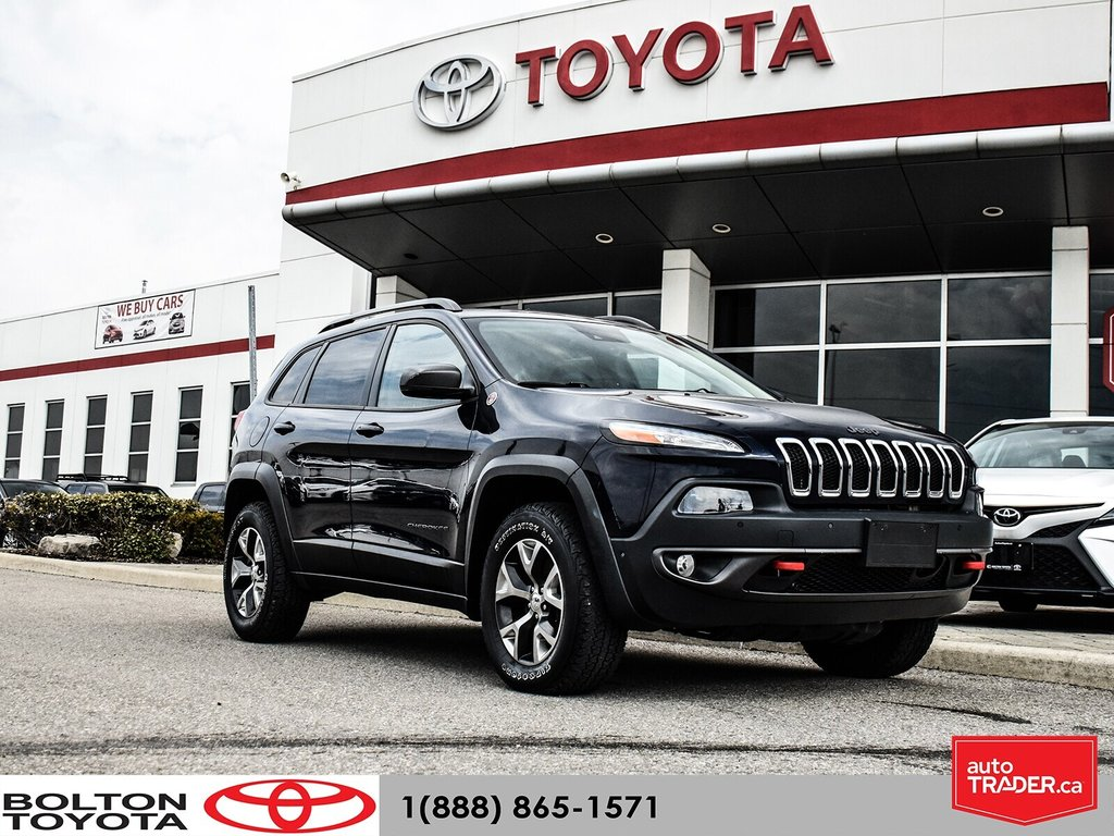 2016 Jeep Cherokee 4x4 Trailhawk in Bolton, Ontario - 1 - w1024h768px
