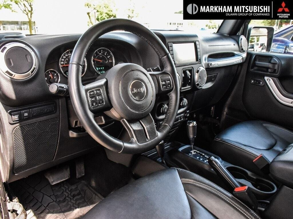2017 Jeep Wrangler Unlimited Rubicon in Markham, Ontario - 9 - w1024h768px