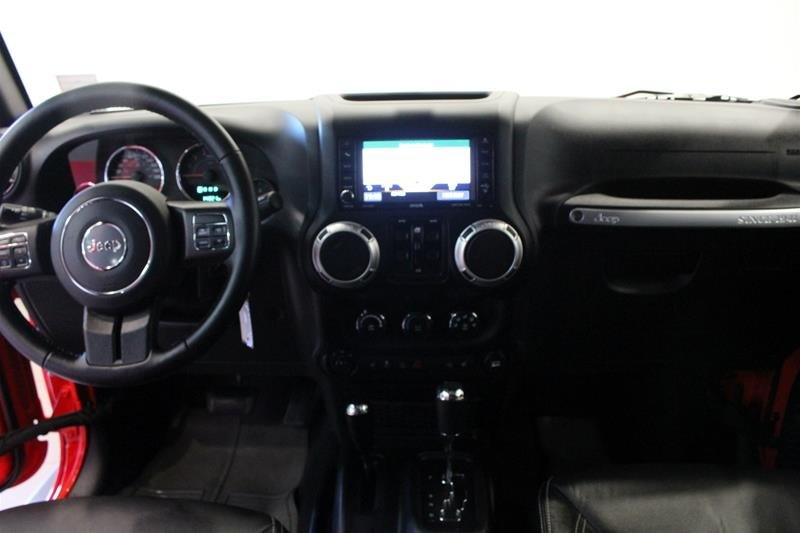 2018 Jeep Wrangler Jk Unlimited Sahara in Regina, Saskatchewan - 13 - w1024h768px
