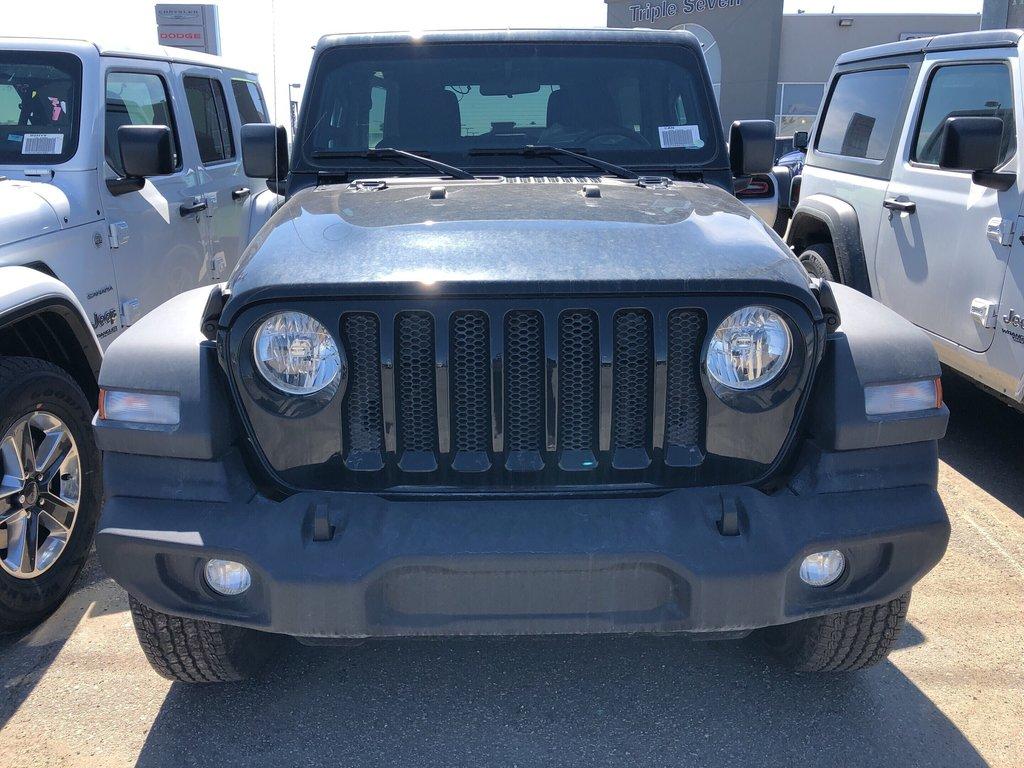 2018 Jeep Wrangler Jl Unlimited Sport in Regina, Saskatchewan - 2 - w1024h768px