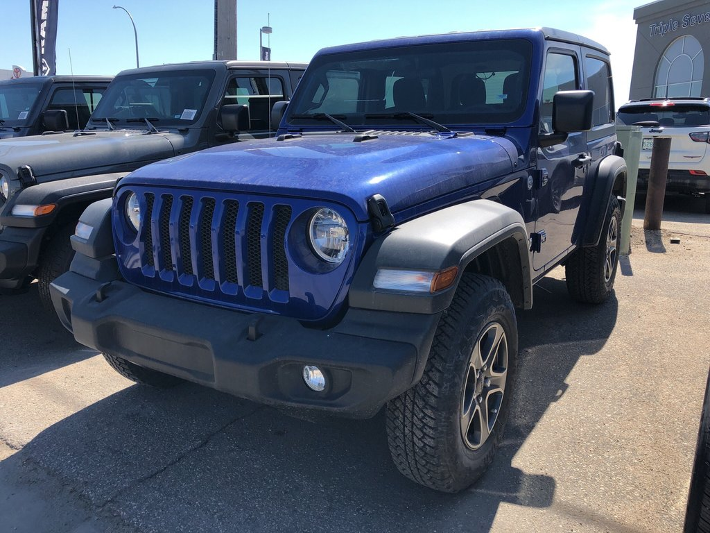 2018 Jeep Wrangler Jl Sport in Regina, Saskatchewan - 1 - w1024h768px
