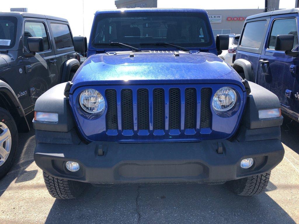 2018 Jeep Wrangler Jl Sport in Regina, Saskatchewan - 2 - w1024h768px