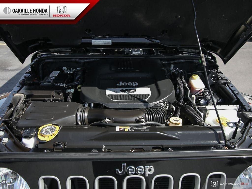 2018 Jeep Wrangler Jk Unlimited Sahara in Oakville, Ontario - 9 - w1024h768px
