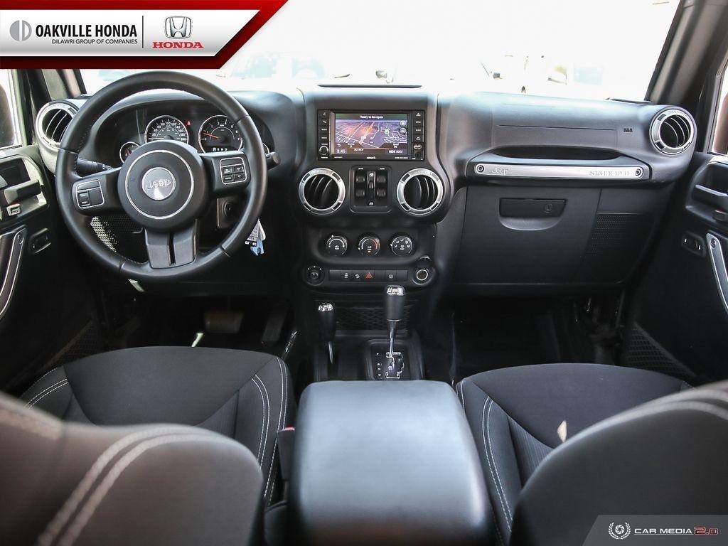 2018 Jeep Wrangler Jk Unlimited Sahara in Oakville, Ontario - 23 - w1024h768px