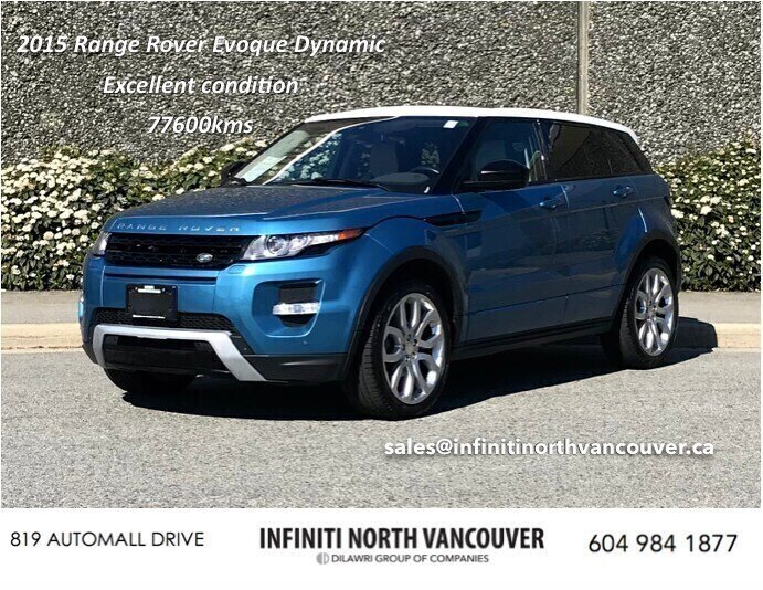 2015 Land Rover Range Rover Evoque Dynamic in North Vancouver, British Columbia - 7 - w1024h768px
