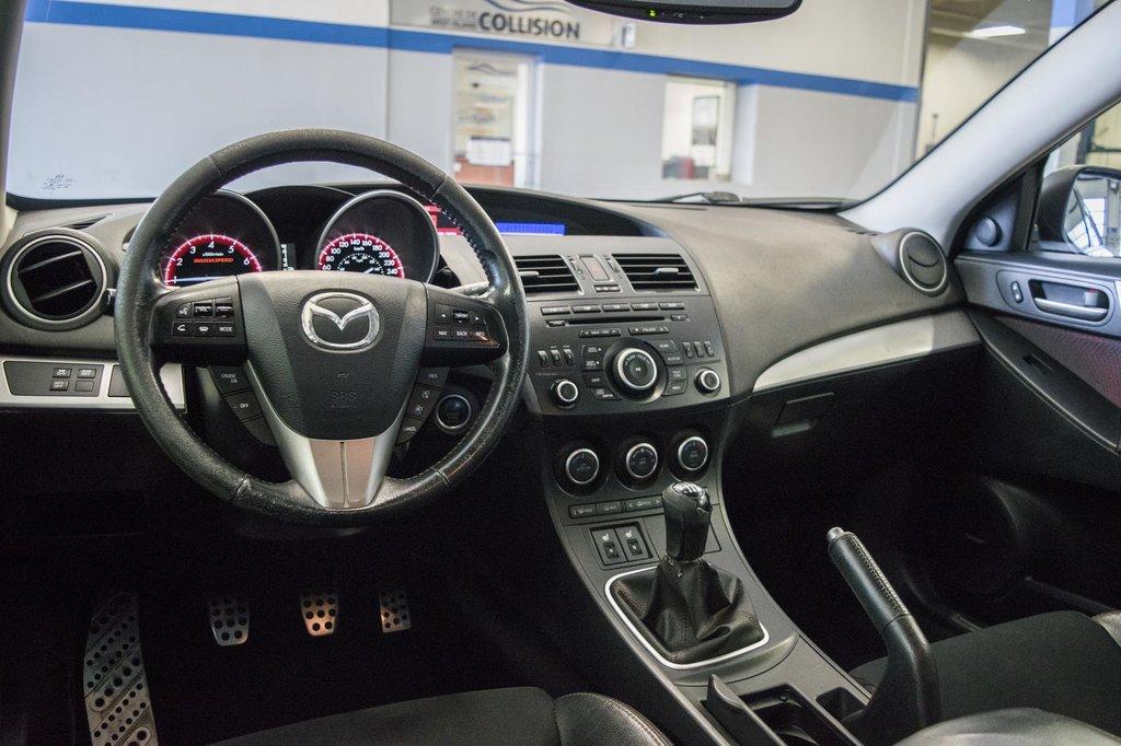 2012 Mazda Mazdaspeed3 ** ** CLIMATISEUR** in Dollard-des-Ormeaux, Quebec - 9 - w1024h768px