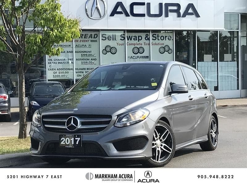 2017 Mercedes-Benz B250 4MATIC Sports Tourer in Markham, Ontario - 1 - w1024h768px