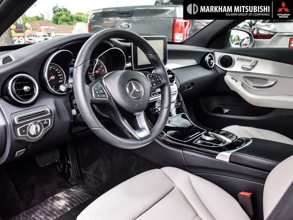 2017 Mercedes-Benz C300 4MATIC Sedan in Markham, Ontario - 10 - w1024h768px