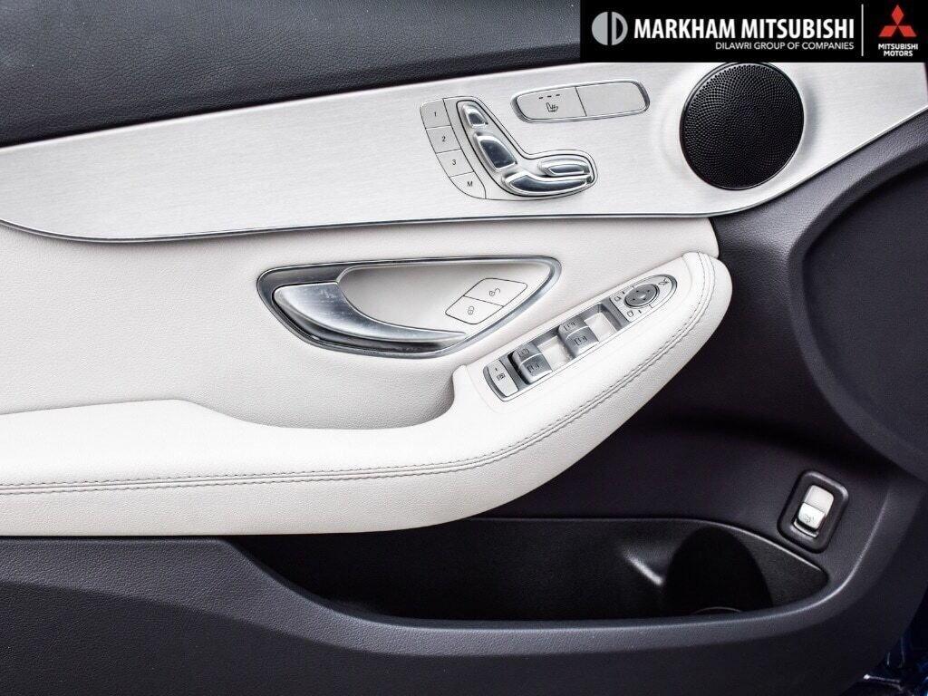 2017 Mercedes-Benz C300 4MATIC Sedan in Markham, Ontario - 20 - w1024h768px