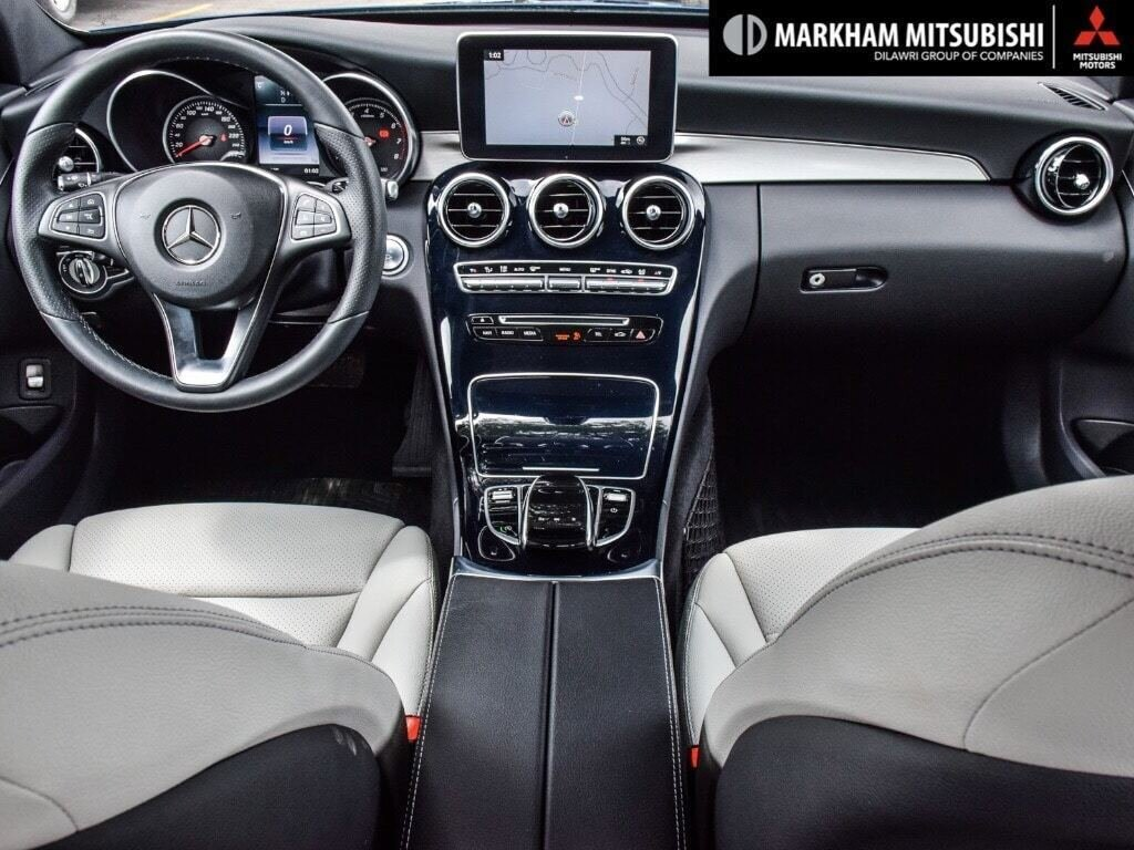 2017 Mercedes-Benz C300 4MATIC Sedan in Markham, Ontario - 11 - w1024h768px
