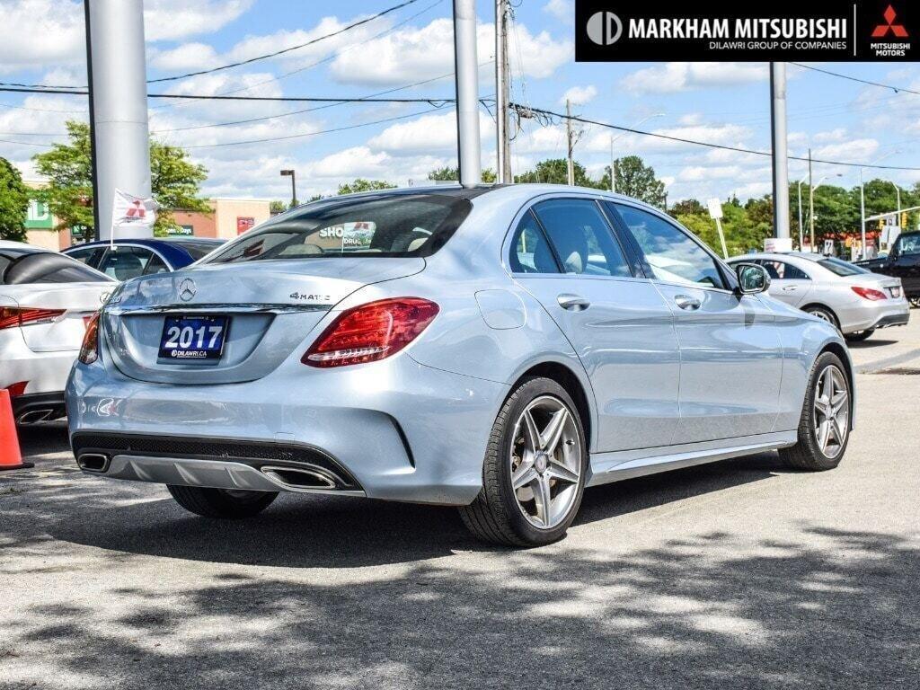 2017 Mercedes-Benz C300 4MATIC Sedan in Markham, Ontario - 4 - w1024h768px