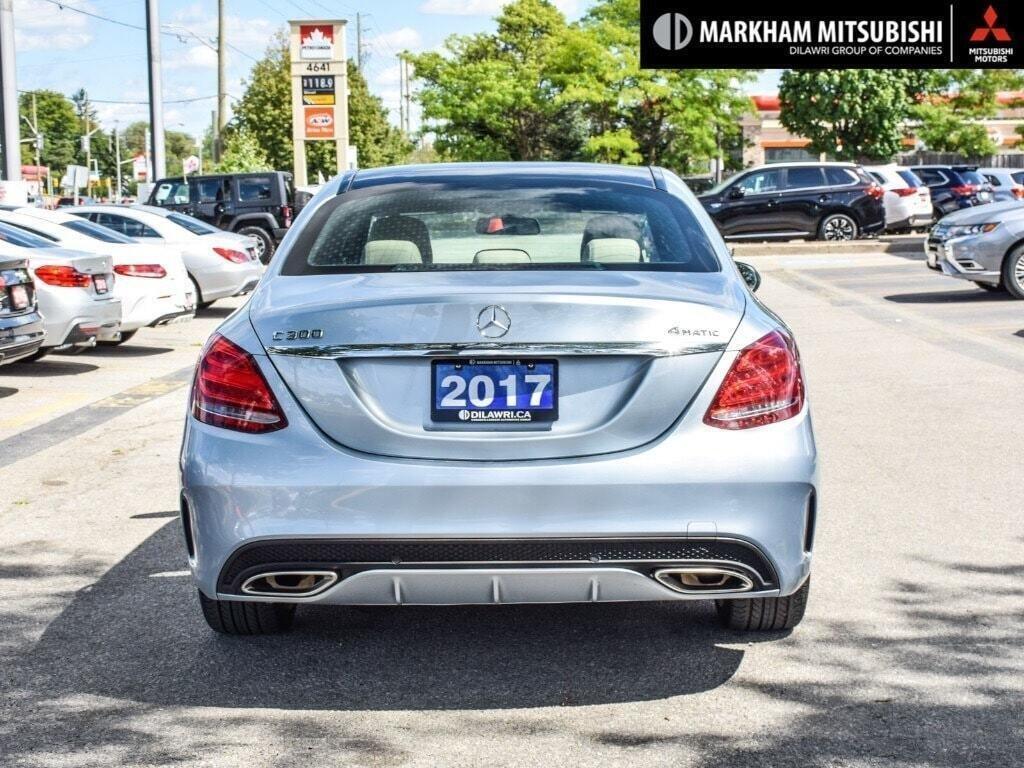 2017 Mercedes-Benz C300 4MATIC Sedan in Markham, Ontario - 5 - w1024h768px