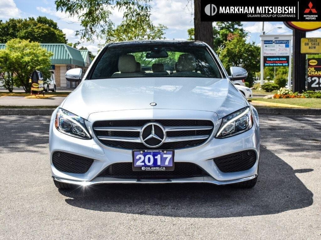 2017 Mercedes-Benz C300 4MATIC Sedan in Markham, Ontario - 2 - w1024h768px
