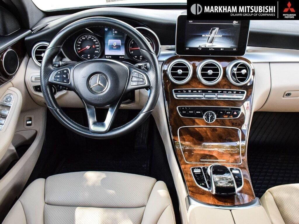 2017 Mercedes-Benz C300 4MATIC Sedan in Markham, Ontario - 12 - w1024h768px