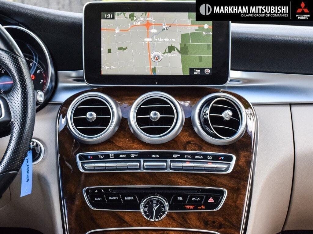 2017 Mercedes-Benz C300 4MATIC Sedan in Markham, Ontario - 16 - w1024h768px