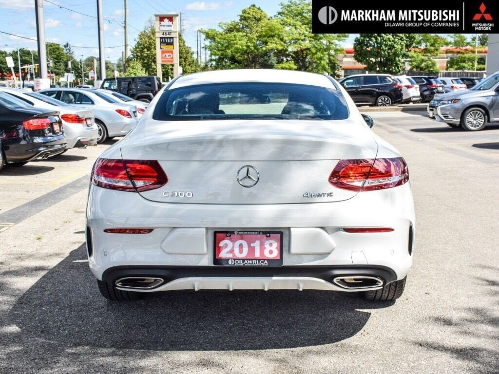 2018 Mercedes-Benz C300 4MATIC Coupe in Markham, Ontario - 5 - w1024h768px