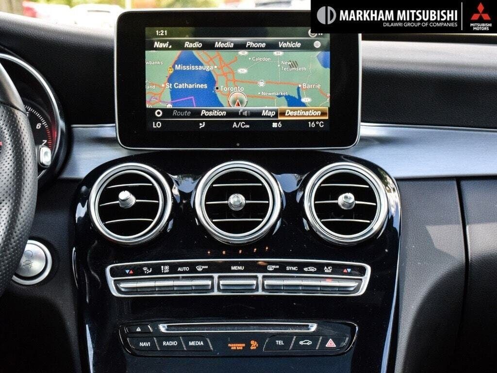 2018 Mercedes-Benz C300 4MATIC Coupe in Markham, Ontario - 13 - w1024h768px