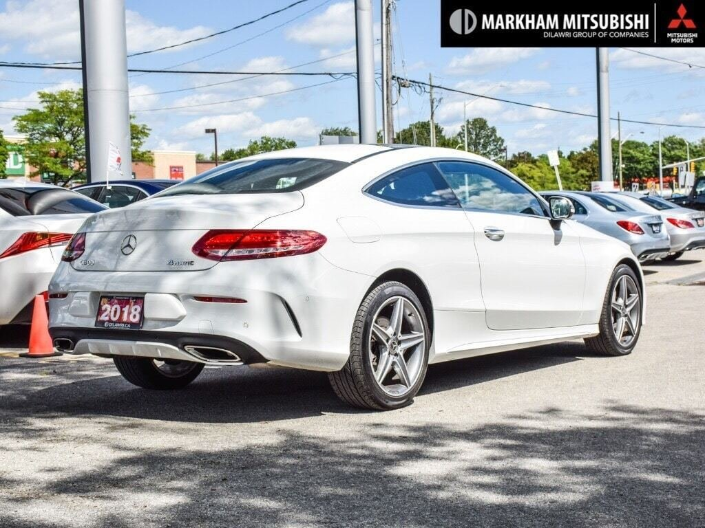2018 Mercedes-Benz C300 4MATIC Coupe in Markham, Ontario - 4 - w1024h768px