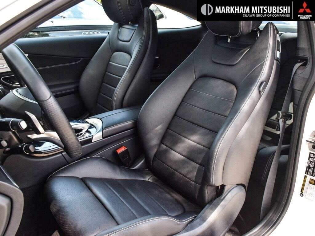 2018 Mercedes-Benz C300 4MATIC Coupe in Markham, Ontario - 9 - w1024h768px