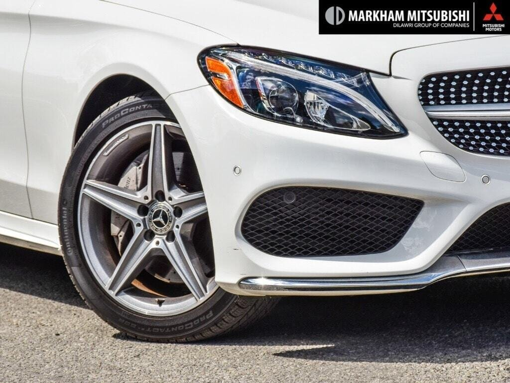 2018 Mercedes-Benz C300 4MATIC Coupe in Markham, Ontario - 6 - w1024h768px
