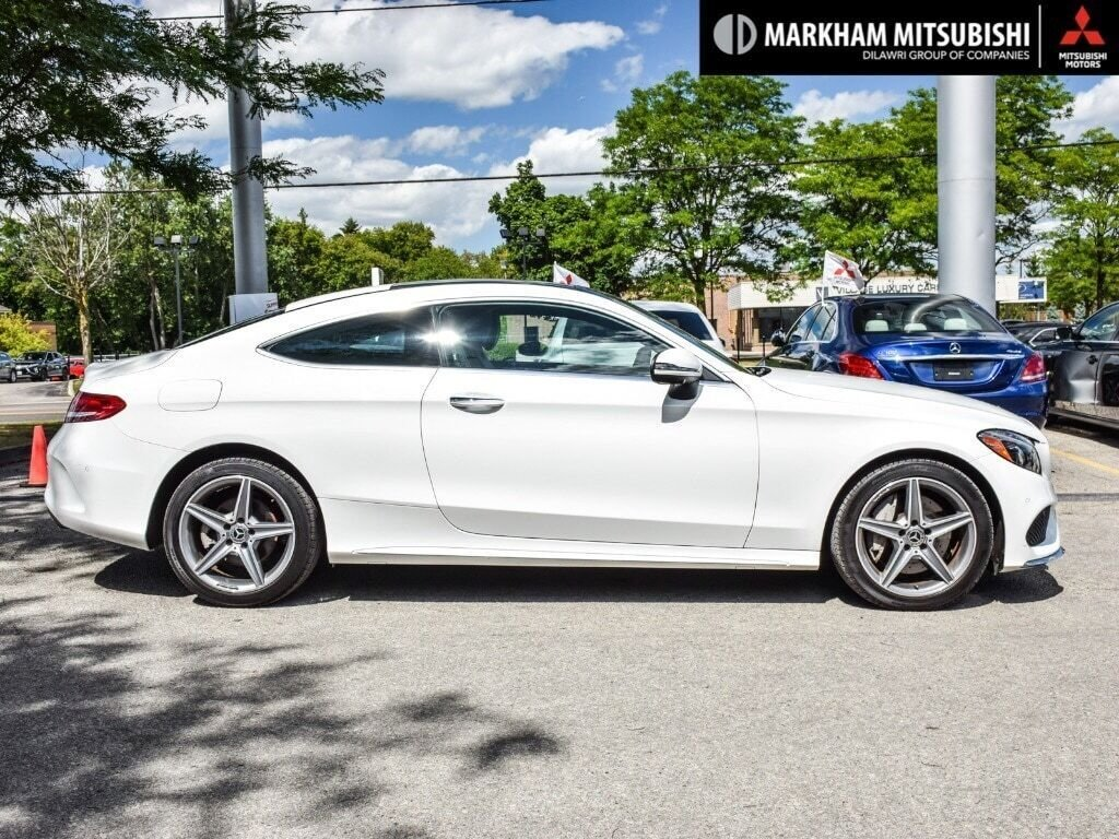 2018 Mercedes-Benz C300 4MATIC Coupe in Markham, Ontario - 3 - w1024h768px
