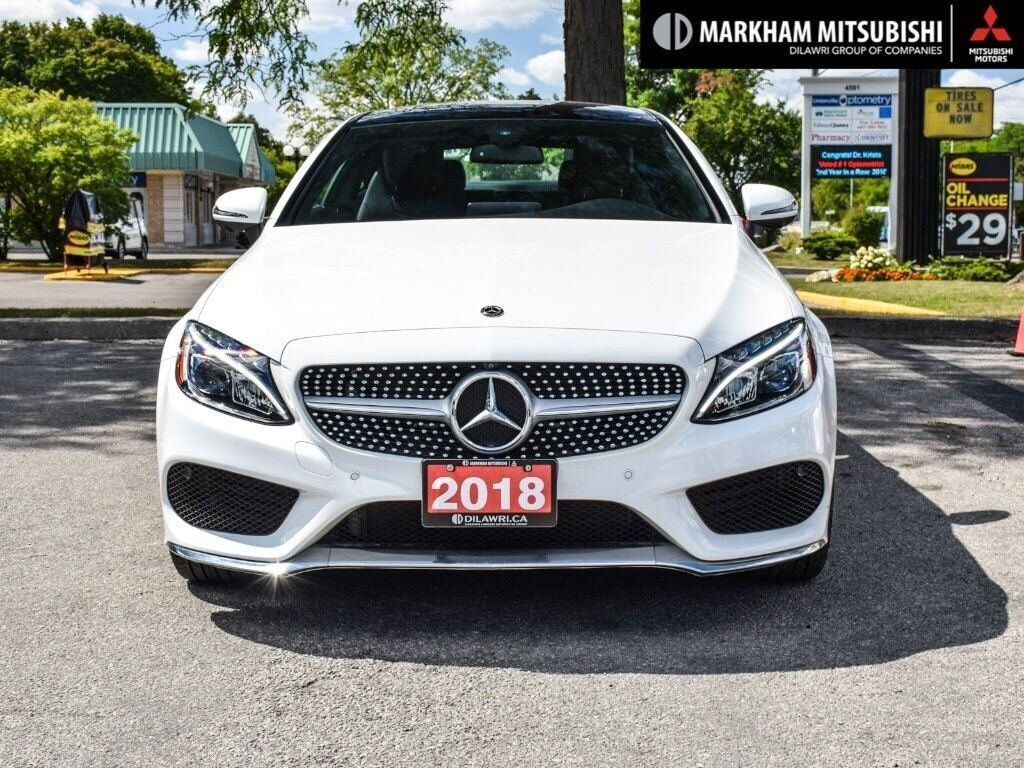 2018 Mercedes-Benz C300 4MATIC Coupe in Markham, Ontario - 2 - w1024h768px